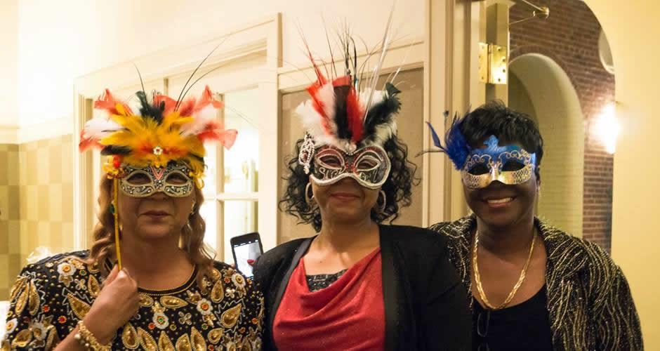 MOWBC masquerade masks
